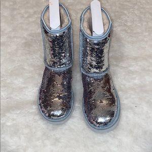 Silver Sparkle UGGS